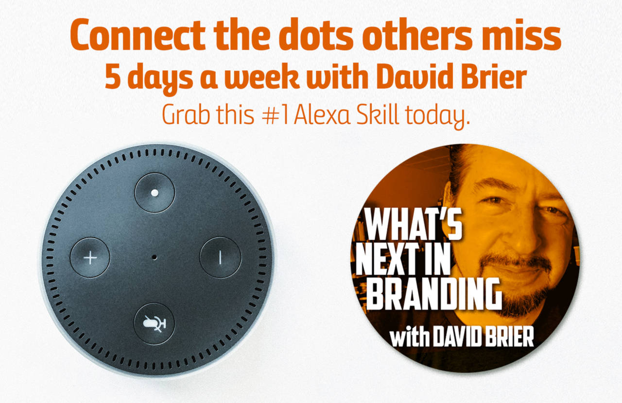 David Brier on Alexa #1 for branding and rebranding