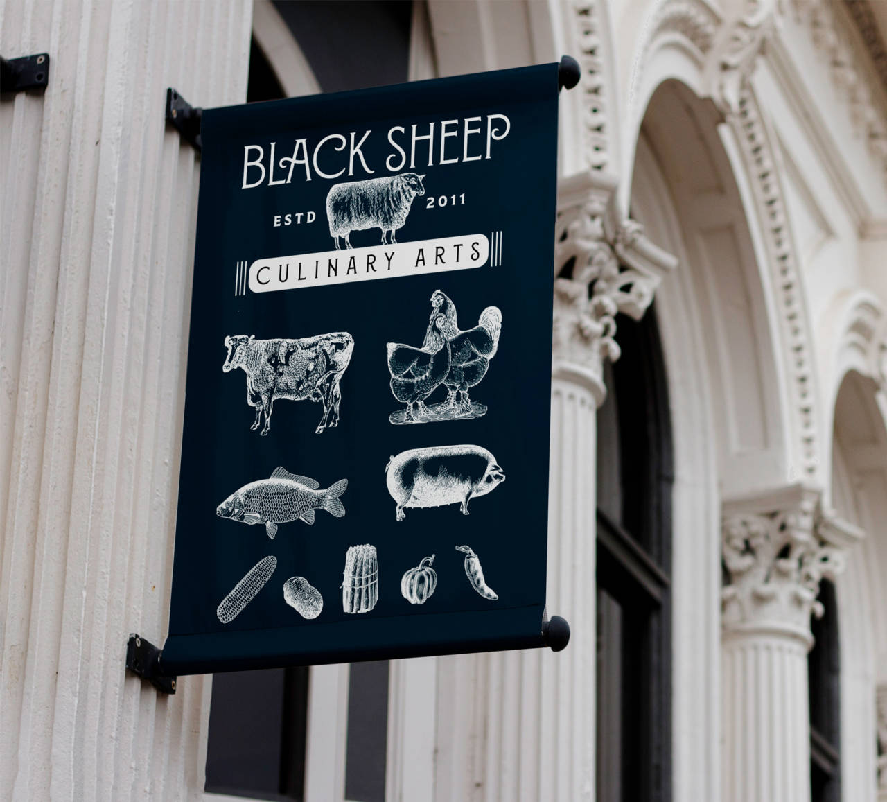 Black Sheep Rebrand Banner by David Brier