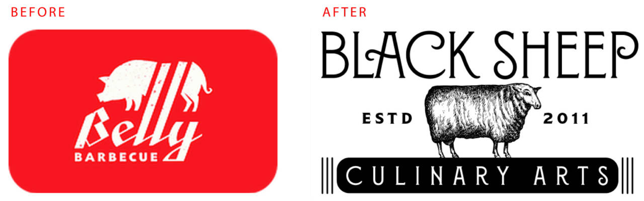 Black Sheep Rebrand by David Brier