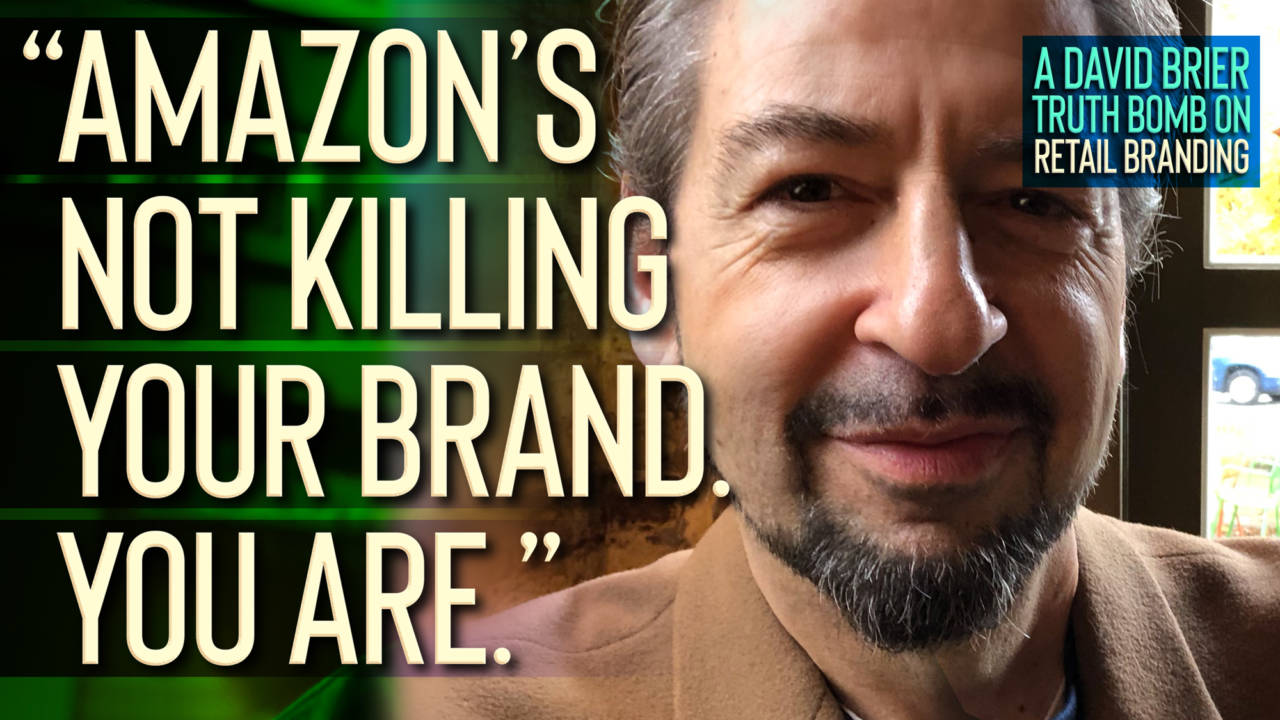 David Brier on the #1 Problem in Retail Branding