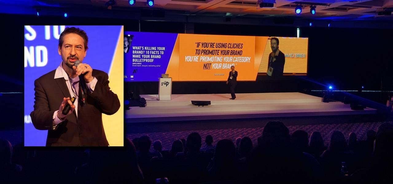 Keynote speaker David Brier