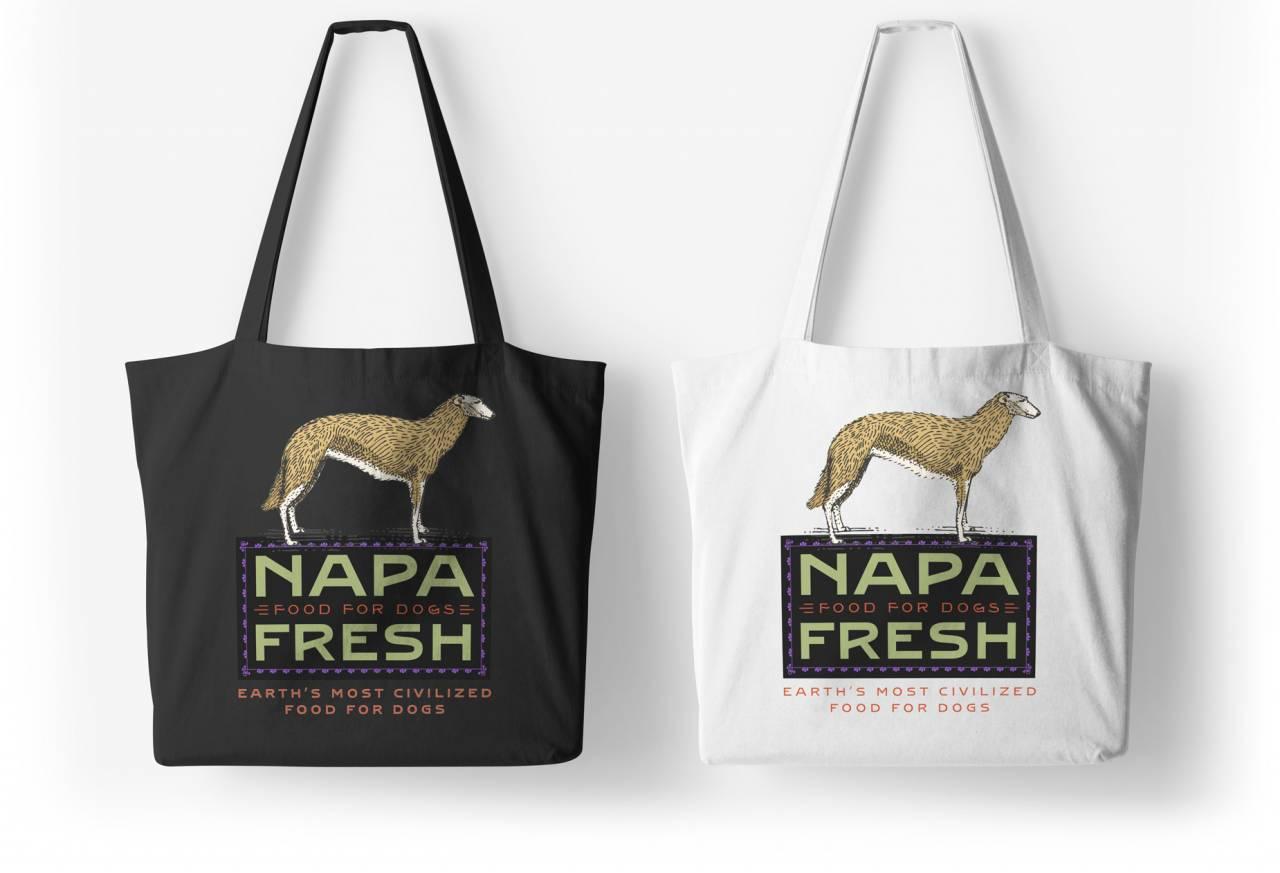 Rebranding a company: Napa Fresh Canvas Bags
