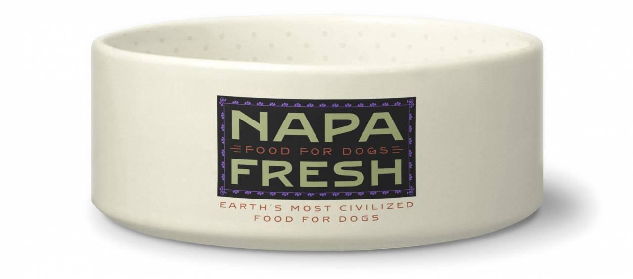 Rebranding a company: Napa Fresh Dog Bowl