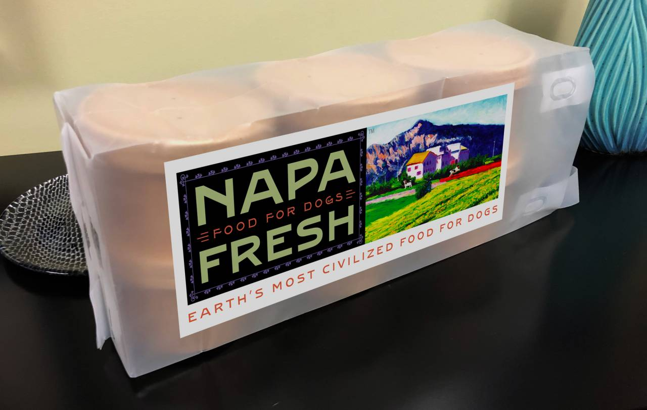 Rebranding a company: Napa Fresh Wine Bags