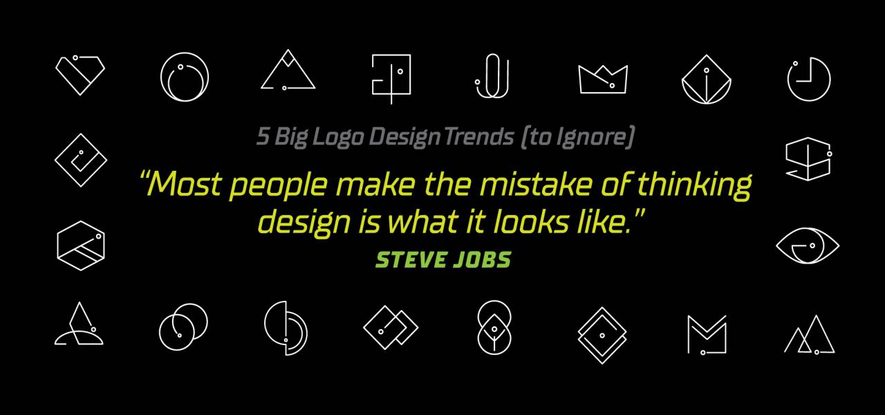 5 Big Logo Design Trends for 2020 to Ignore