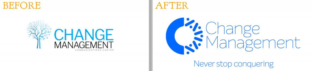 before and after: Ways to Successfully Rebrand