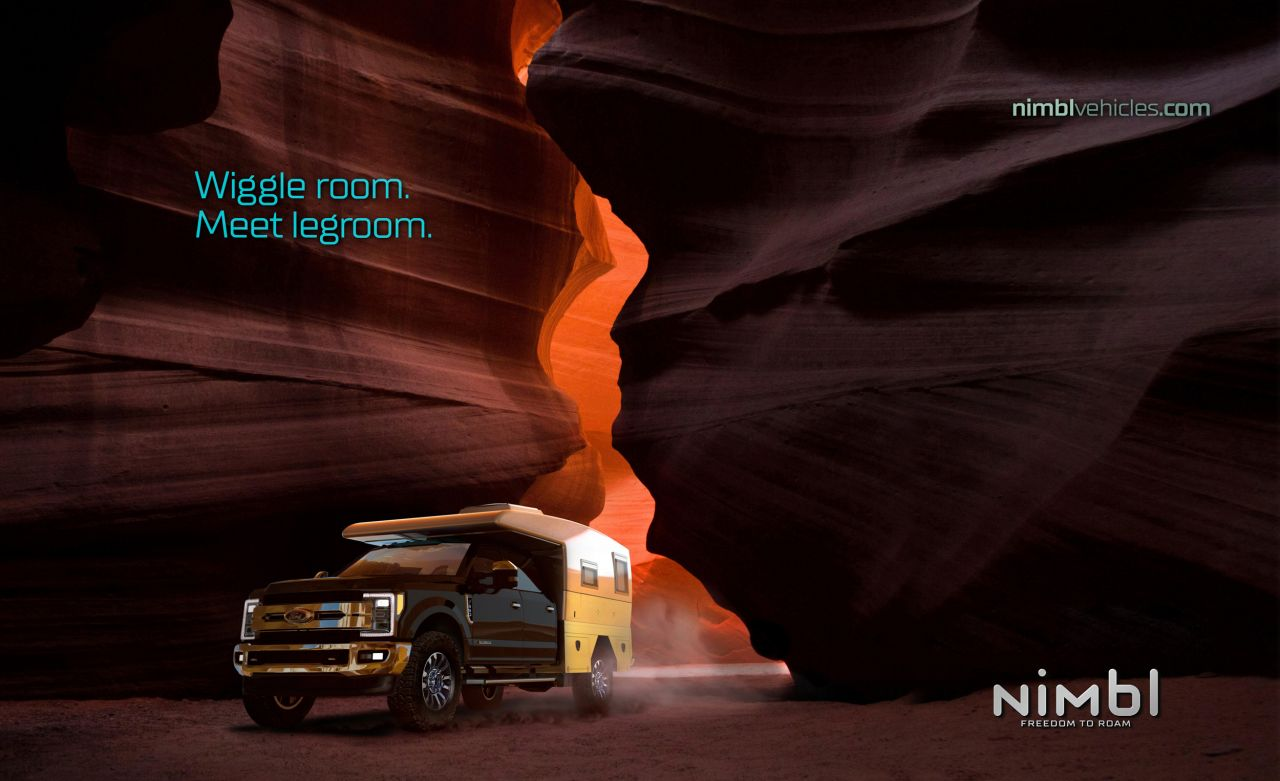 Luxury Brand Advertising Campaign for Nimbl_Wigggle_Room