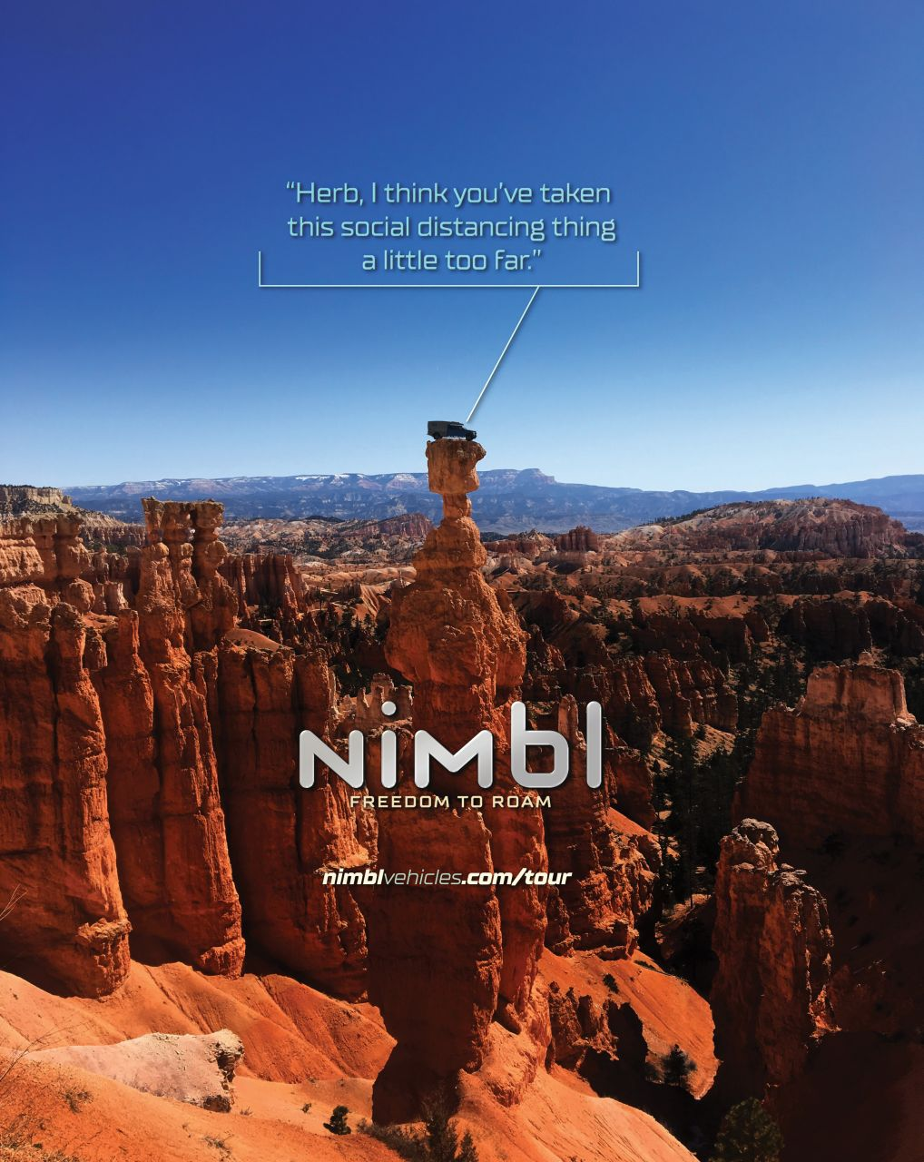 Luxury Brand Advertising Campaign for Nimbl_Social_Distancing